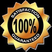 10% satisfaction guaranteed