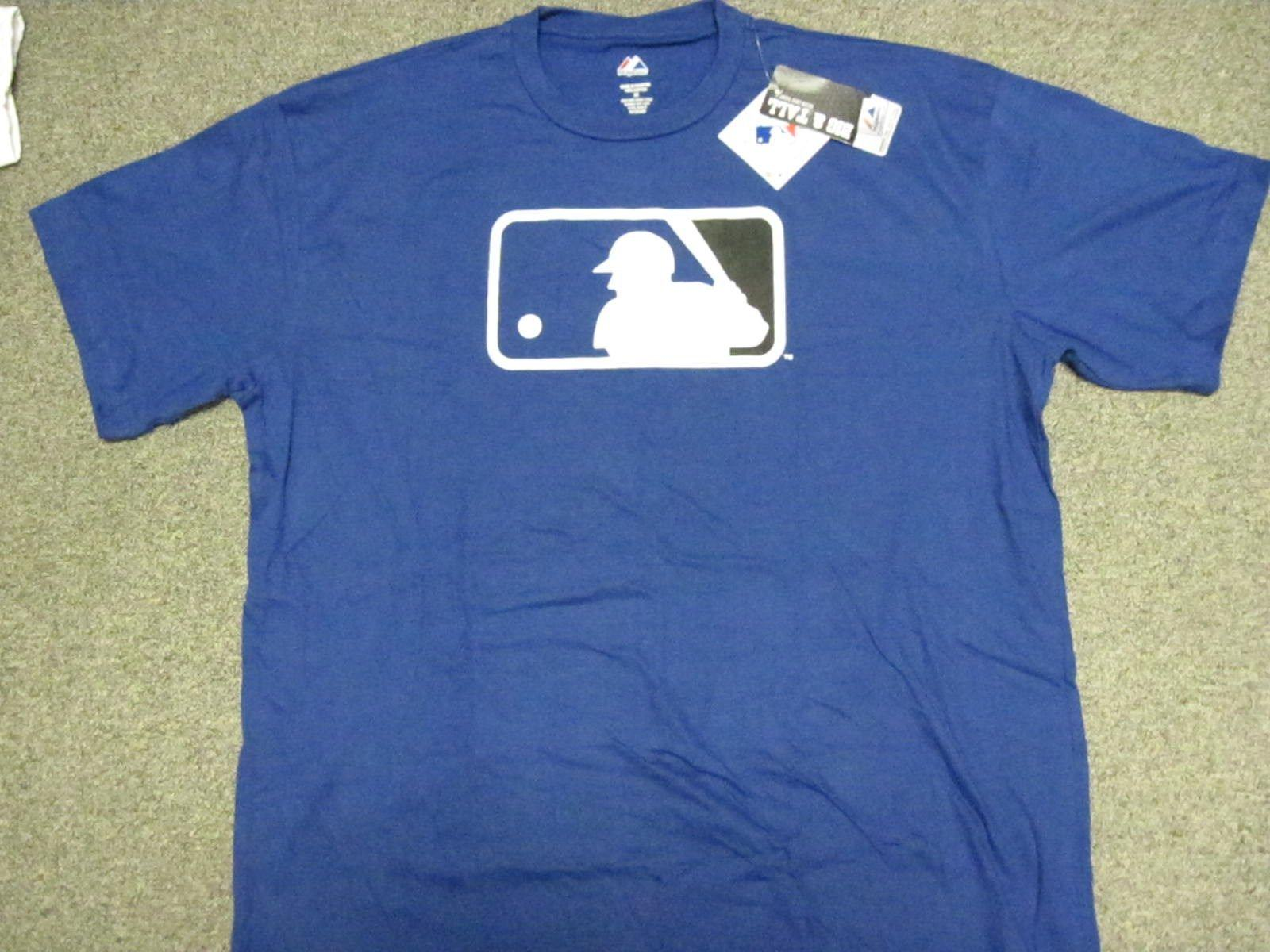 new product e7e82 bb8c7 Majestic MLB Logo Clubhouse T-Shirt