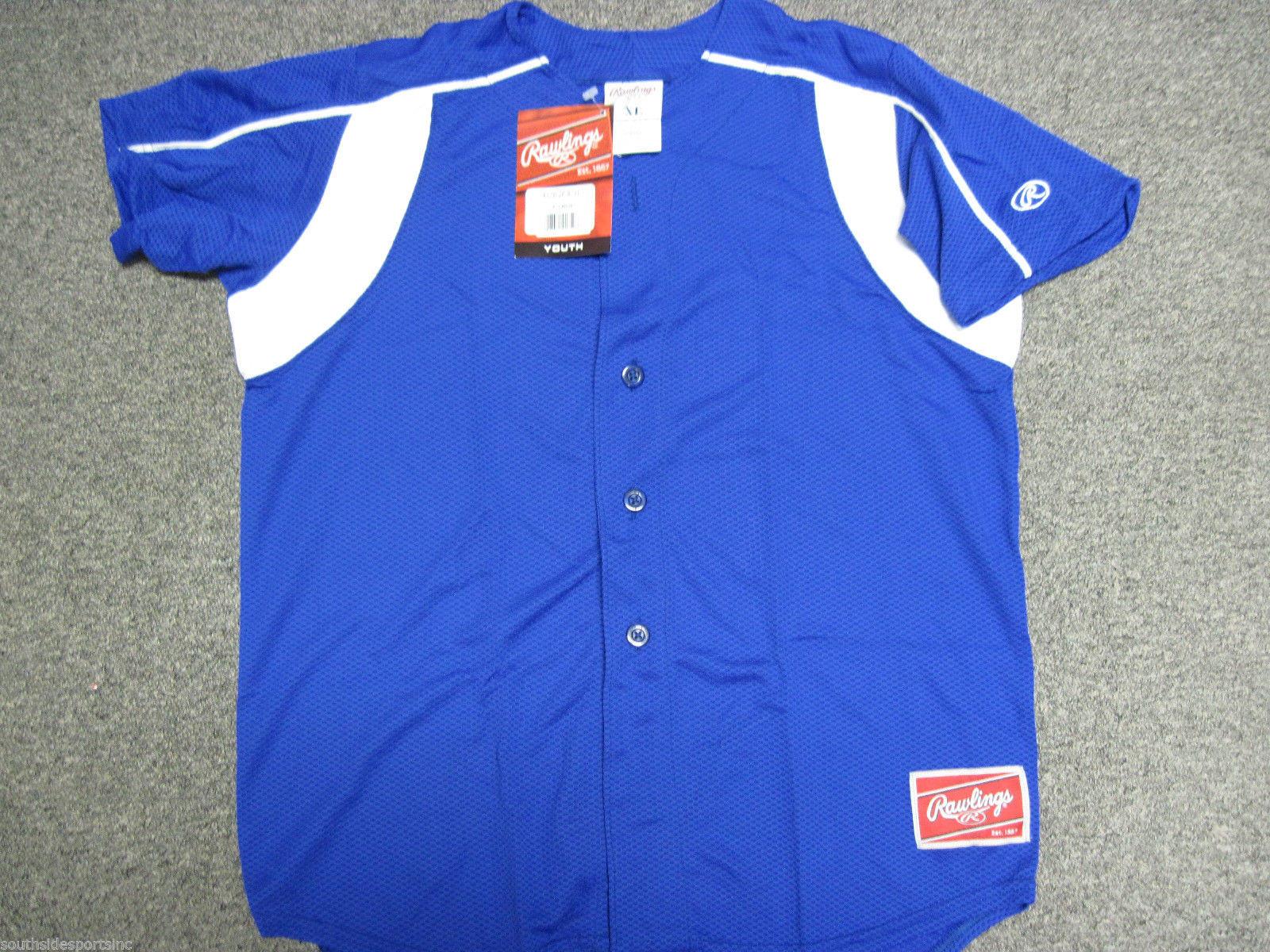 42c8ca93a01 Rawlings Dri Fit Youth Baseball Jersey – Southside Sports