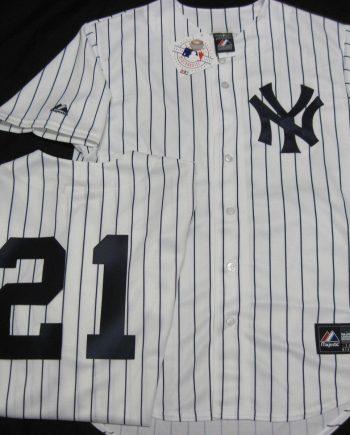361d7f4729c Paul Oneill Pinstripe Yankees Jersey Majestic