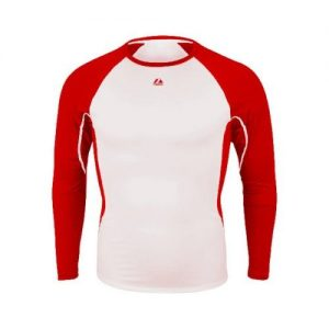 Red Warrior Adult Long Sleeve Shirt