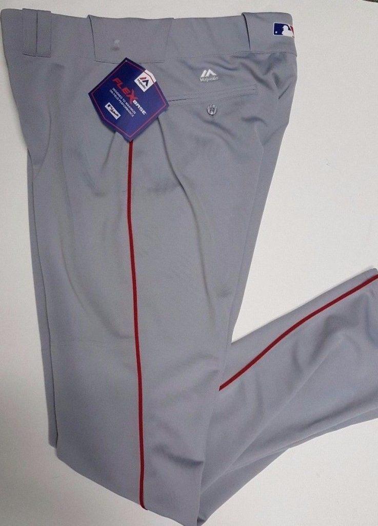 BaseballPantsGreyw:Red