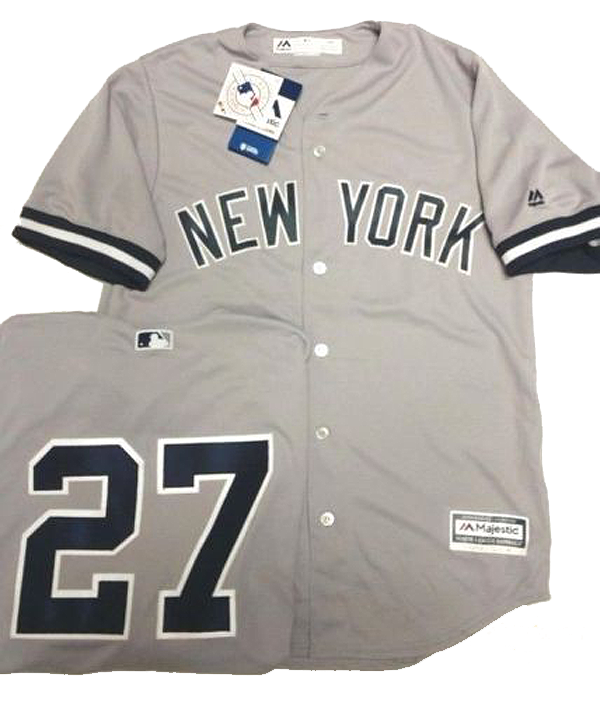Home   Authentic MLB Baseball Jerseys   GIANCARLO STANTON YANKEES MENS GREY  COOL BASE JERSEY PICK SIZE MAJESTIC NEW d071c2cd586