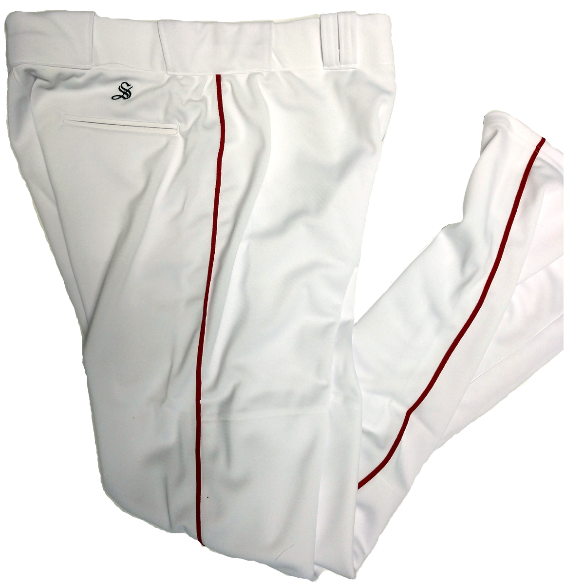 White Red Southside Pant
